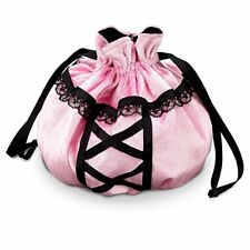Princess Paradise Pink And Black Lacy Witch Purse/Hand Bag