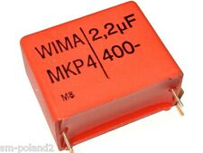 2.2uF 400V 5% MKP-4 WIMA RM=27.5mm Capacitor Folienkondensator [QTY=1pcs]