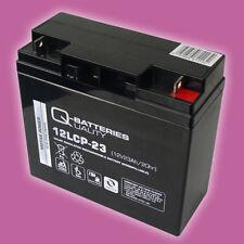 Solar Akku Solar Batterie 12V 23Ah Blei AGM Akku Photovoltaik Solarenergie