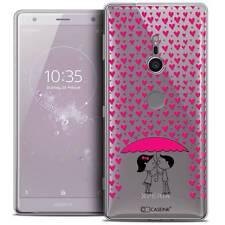 """Coque Crystal Gel Pour Sony Xperia XZ2 (5.7"""") Souple Love Pluie d'Amour"""