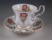 ROYAL ALBERT ENGLAND BONE CHINA  DERVENT CUP AND SAUCER SET