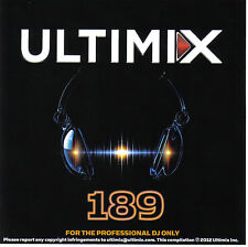 Ultimix 189 LP will.i.am Taylor Swift One Direction Maroon 5 The Cataracs