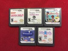 Lot of 5 Children's DS Games (Nintendo DS) - Tested and Guaranteed