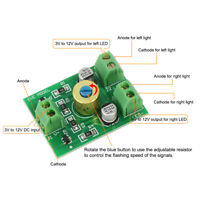 1X Compact Circuit Board Flasher to Flash Crossing Signals Alternately PCB006