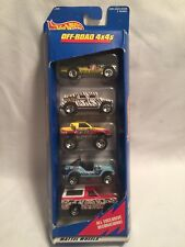 Vintage Hot Wheels 5 Pack Long Gone Off Road 4x4's Diecast 1:64 Cars