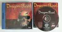 Sega Dreamcast - Dragons Blood - Preowned VGC