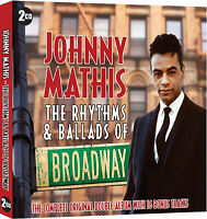 Johnny Mathis - Rhythms & Ballads Of Broadway - 2CD SET - BRAND NEW SEALED HITS
