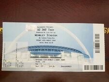 U2 360 Tour 2009 Concert Ticket Stub