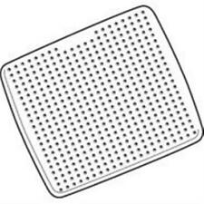ESSN Safty-Grip Rubber Shower Mat White Latex-free and Mildew-resistant