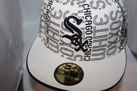 Chicago White Sox  New Era MLB Sold Logo 59Fifty,Fitted,Hat,Cap        NEW