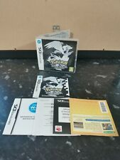 Pokemon Black Version DS  - Box With Manuals (NO GAME INCLUDED)