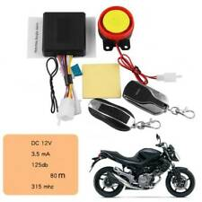 Motorcycle Bike Keyless Anti-theft Security Alarm System Remote Control