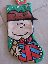 Snoopy Pal, Charlie Brown Large Puffy 3D Christmas Stocking