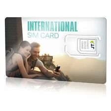 Telestial OneRate International SIM card with $5.00 Credit for over 190