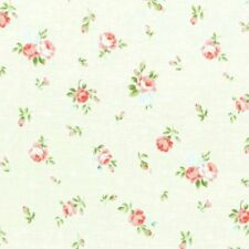Cottage Shabby Chic Lecien Princess Rose Small Roses Fabric 31267L-10 Cream BTY