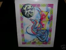 Amy Brown - Moon Watchter - Signed - Out Of Print