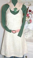 Noa Noa  Leinen Kleid  Dress Neckholder  Layout Linen Butter size: XL  Neu
