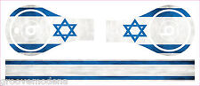 Cover Adesiva Sticker per Cuffie Monster Beats by Dre Studio ISRAEL FLAG New