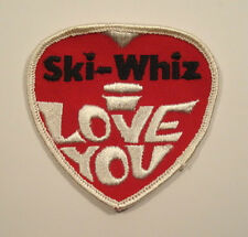 SKI-WHIZ Massey Ferguson Snowmobile I LOVE YOU Embroidered PATCH