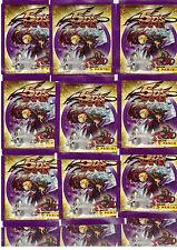 YU-GI-OH 5ds/50 cartocci Adesivo/Panini/scatola originale/NUOVO