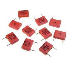 10 WIMA POLIPROPILENE diapositive canalizzatore mkp4 10% 250v 0,1uf 10mm 118456