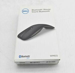 Dell Wireless Computer Mouse Bluetooth 4.0 WM615 Black 3-Button - SH1799