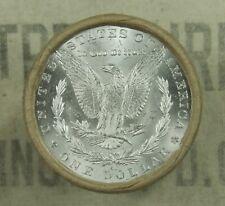 $20 Bu Morgan Dollar Roll Uncirculated Silver Cc & Cc Mint Ends Dollars Z52