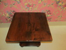 Ethan Allen Antiqued Tavern Pine Collection Square Pedestal Table 12 8001