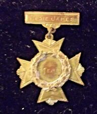 Antique 1892 MERIT BADGE PIN from Prof. W.K. Besson