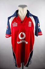 admiral cricket England Jersey Shirt Gr. L vodafone national Jersey blau RU14