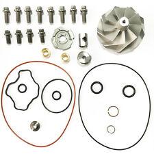 Turbo Billet Compressor Wheel& Rebuild Kit Powerstroke 7.3 Fit GTP38 TP38