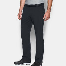 UNDER ARMOUR GOLF MATCH PLAY PANTS SIZE: W32 / L30 BLACK JORDAN SPIETH NEW 18245