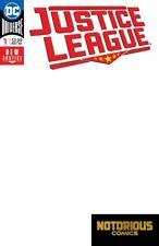 Justice League #1 Blank Variant DC Comics 1st Print 06/06x
