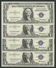 "America -USA x 1 FDS / UNC 1 Dollari Decr.1935 "" F "" Bollino BLU !!!"
