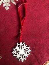 Lenox China Holiday Snowflake Orname 00006000 nt