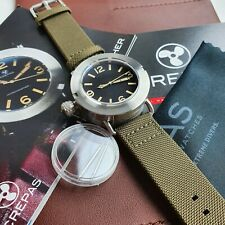 CREPAS HYDROGRAPHER 1942M 2892-A2 SAPPHIRE DIVER WATCH HISTORIC DESIGN NUMBER 51