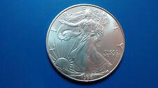 MONEDA DE PLATA PURA  0.999/1000 EEUU Liberty Eagle  AÑO 1998 1 ONZA  EN CAPSULA