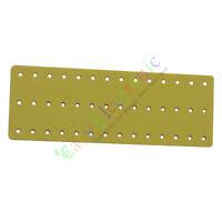 10pc PCB Fiberglass Turret Terminal Strip 42pin Holes Tag Board audio amps DIY