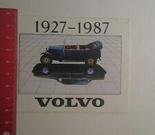 Aufkleber/Sticker: Volvo 1927 1987 (19121636)