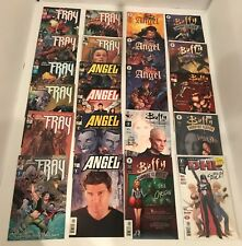 LOT OF 30 BUFFY THE VAMPIRE SLAYER - 5 COMPLETE MINIS + 1 SHOTS - FRAY/ ANGEL +