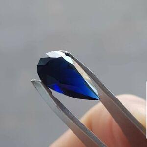 3.06ct Australian blue sapphire, tear drop. Unheated, loopclean ethically souced