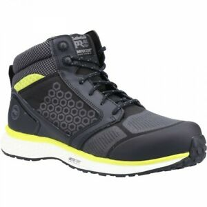 Timberland Pro Reaxion Safety Work Boots Black (Sizes 6-12) Mens Steel Toe Cap