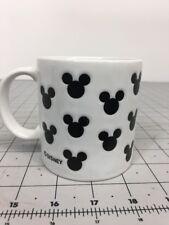 Disney Mickey Mouse White Ceramic Coffee Tea Mug Made In Japan