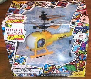 Marvel Comics 2.5 CH Wireless Thanos Helicopter Remote Control Brand New sealed
