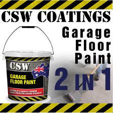 Garage Floor Paint 20L - High Solids 2 in 1 Garage Floor Coating