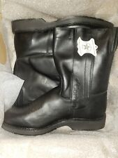 Mike Corbin Roadmaster Motorcycle Boots Men 13 EE Made In USA, NEW WITH TAG