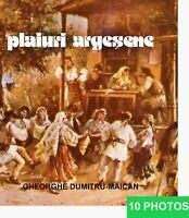 Romania PLAIURI ARGESENE 310 pict. Folk Costume Art Peasant History FortressBook