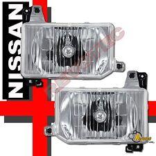 Chrome Headlights Lamps For 87-95 Nissan Pathfinder & 88-89 Hardbody Pickup
