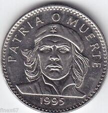 1995 CHE GUEVARA 3 PESOS NICKEL COIN