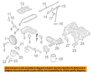 NISSAN OEM 16-18 Titan XD 5.0L-V8 Engine-Check Valve O-ring 15056EZ40A